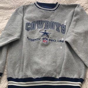 Vintage authentic Cowboys sweatshirt
